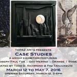 Topaz Arts presents Case Studies