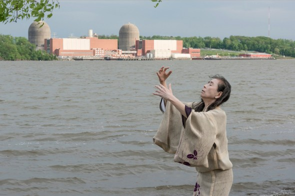 Eiko at Indian Point Energy Center, New York, photo by William Johnston