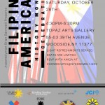 Celebrate Filipino American History Month at Topaz Arts