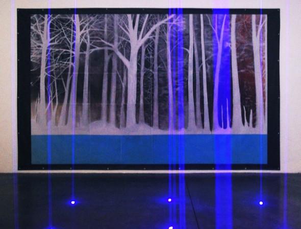 Laser Forest by Todd Bradford Richmond