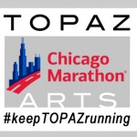 Topaz Arts at the Chicago Marathon
